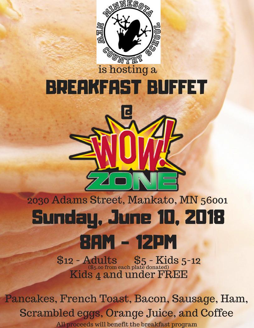 Minnesota New Country School Breakfast - wow!zone-sunday