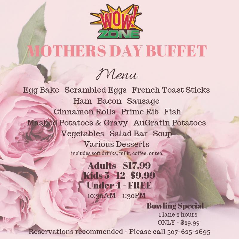 Mothersdaybuffet -wowzone-may12