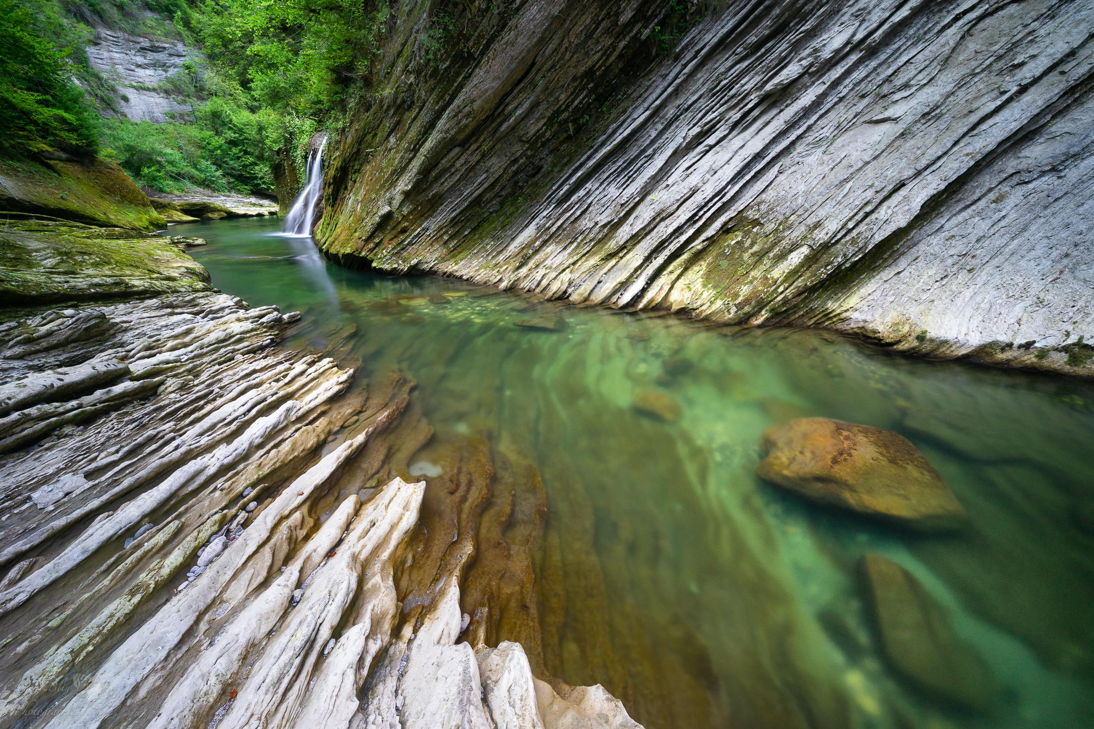 La cascade des gorges du Chéran