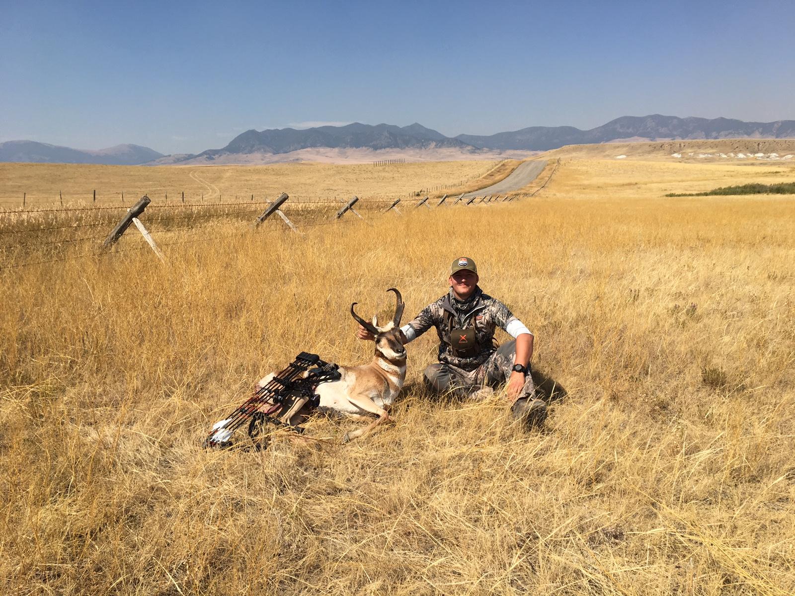 Montana Antelope Jacob Lyons