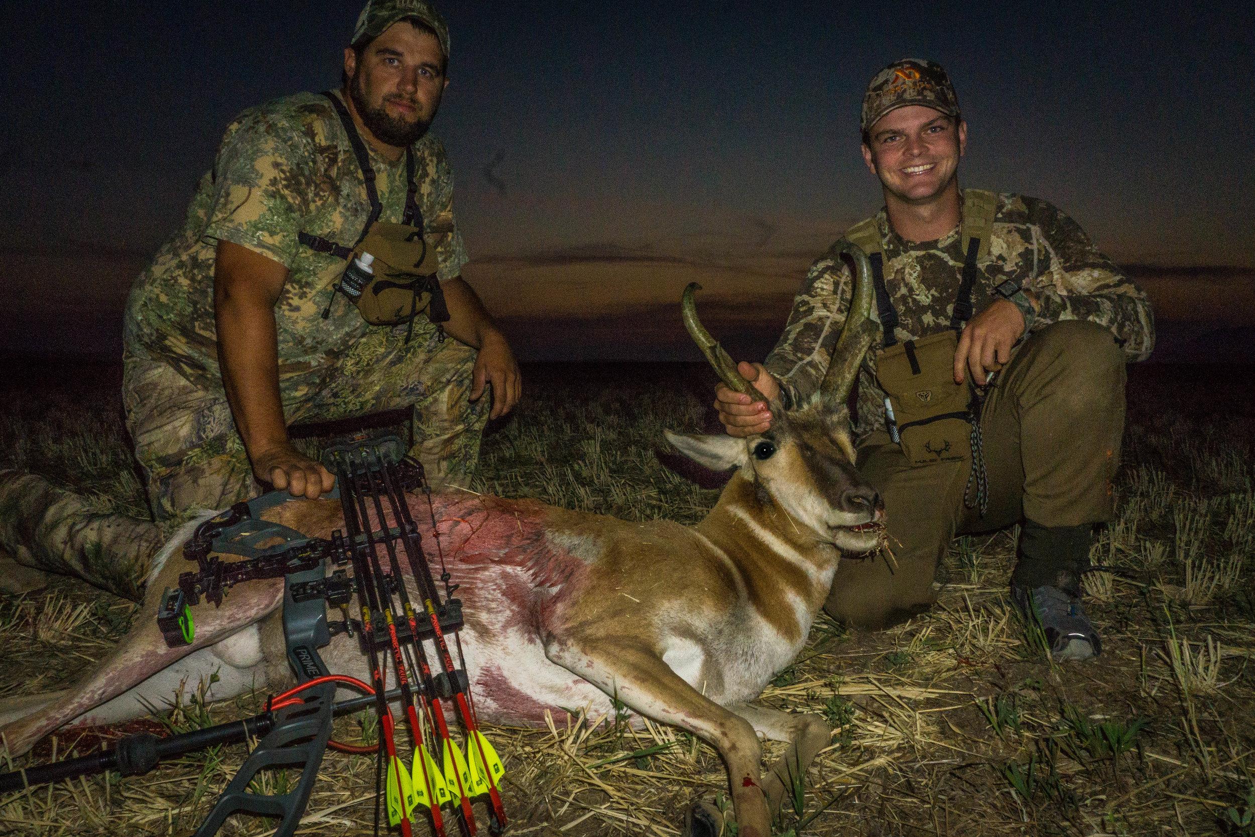Montana Antelope Logan Summers