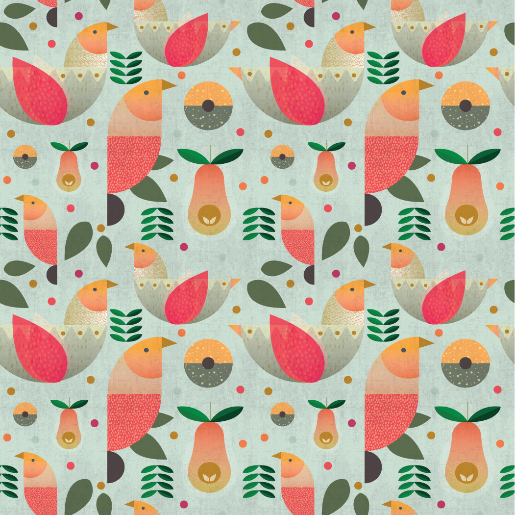 The perfect pear:  Grandma's Christmas Birds