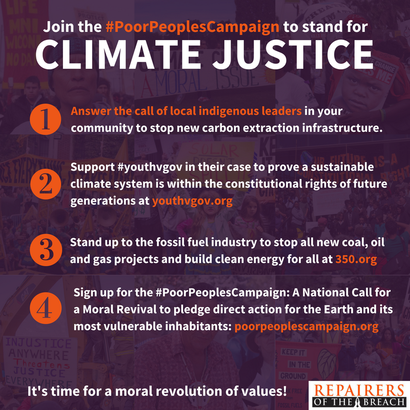 climate justice action