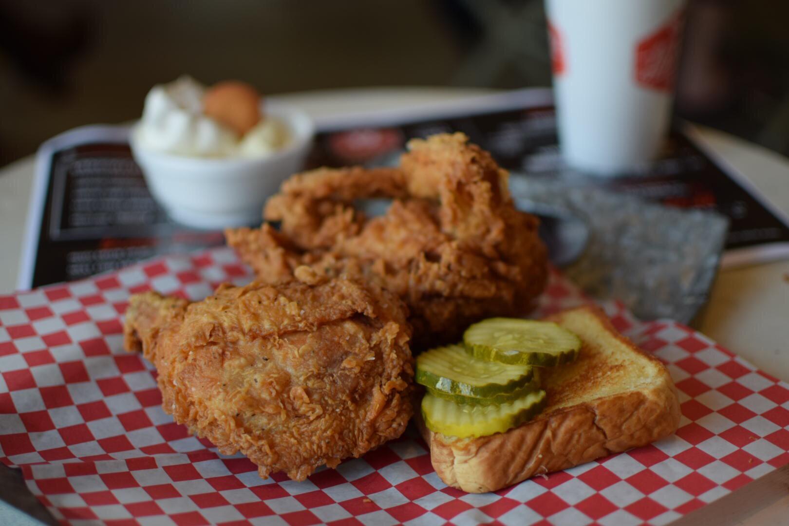 Big Willie's fried chicken & pickles.JPG