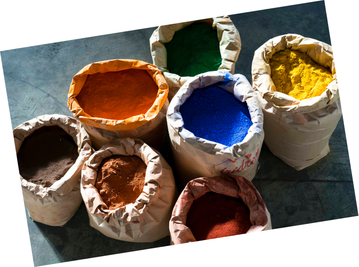 Tommy Art pigment paint from Italy