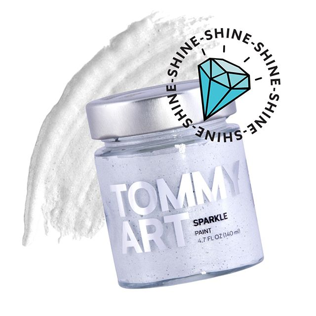 All that glitters shimmers too. Mix Sparkle Paint with any color in the Tommy Art DIY System to add an iridescent glittering effect. For a clean, consistent color, we recommend mixing at a color to Sparkle Paint ratio of 5:1. Just sand the finished, dry product to reveal sparkle. Watch the demo at the link in bio.⠀ ⠀ #diypaint #diy #diyprojects #diyproject #paint #metallic #sparkle #shine #glitter #metallicpaint #upcycle #flair #renovate #innovate #chalkpaint #mineralpaint #doityourself #treatyourself #homrenovation #dreamhome #interiordesign #art #crafts #madeinitaly #italiandesign
