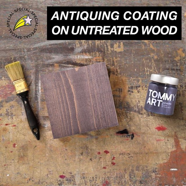 Coatings are a simple way to add dimension to untreated wood projects. Watch how at the link in bio.⁠ ⁠ #diy #diyprojects #texture #woodtexture #upcycle