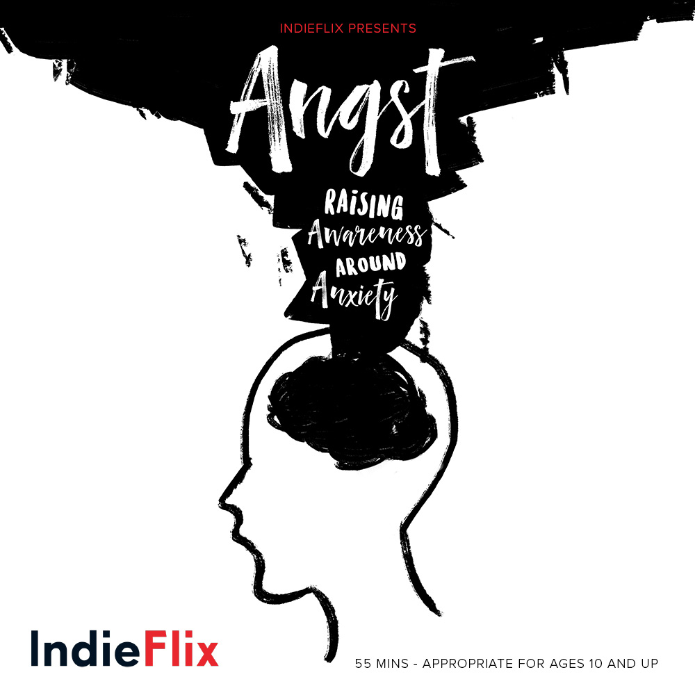 Angst Documentary and VR Experience - Find out more about the Indieflix Documentary, Angst, recently released and screening in communities worldwide. The documentary features several teens, Micheal Phelps and Jenny as lead narrator and mental health consultant.