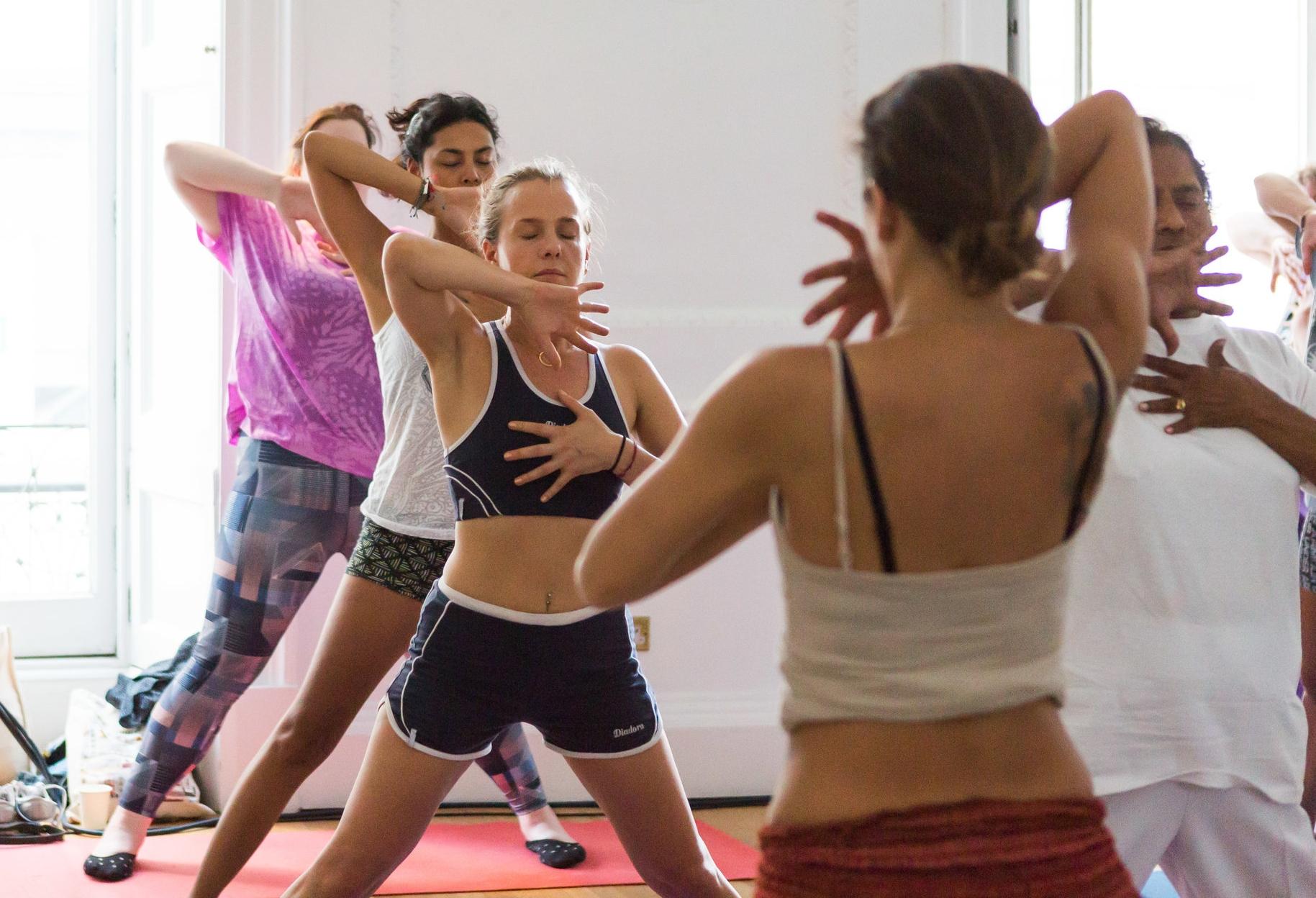 Summer Solstice 2017 Yoga Class, Nehru Centre