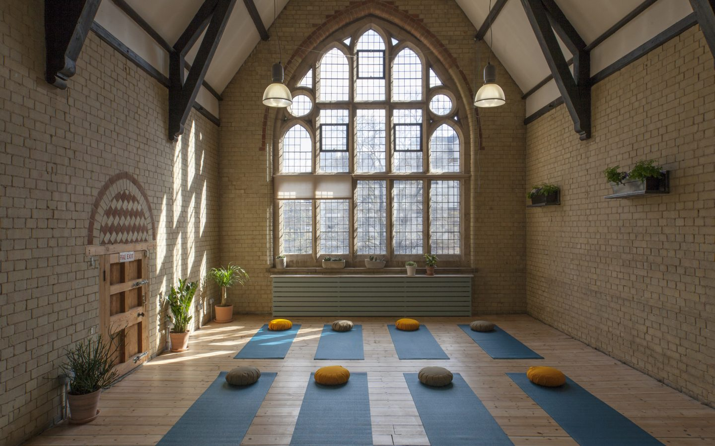 42 Acres, Shoredtich, Yoga Classes on Wednesday mornings, 8.00am to 9.00am
