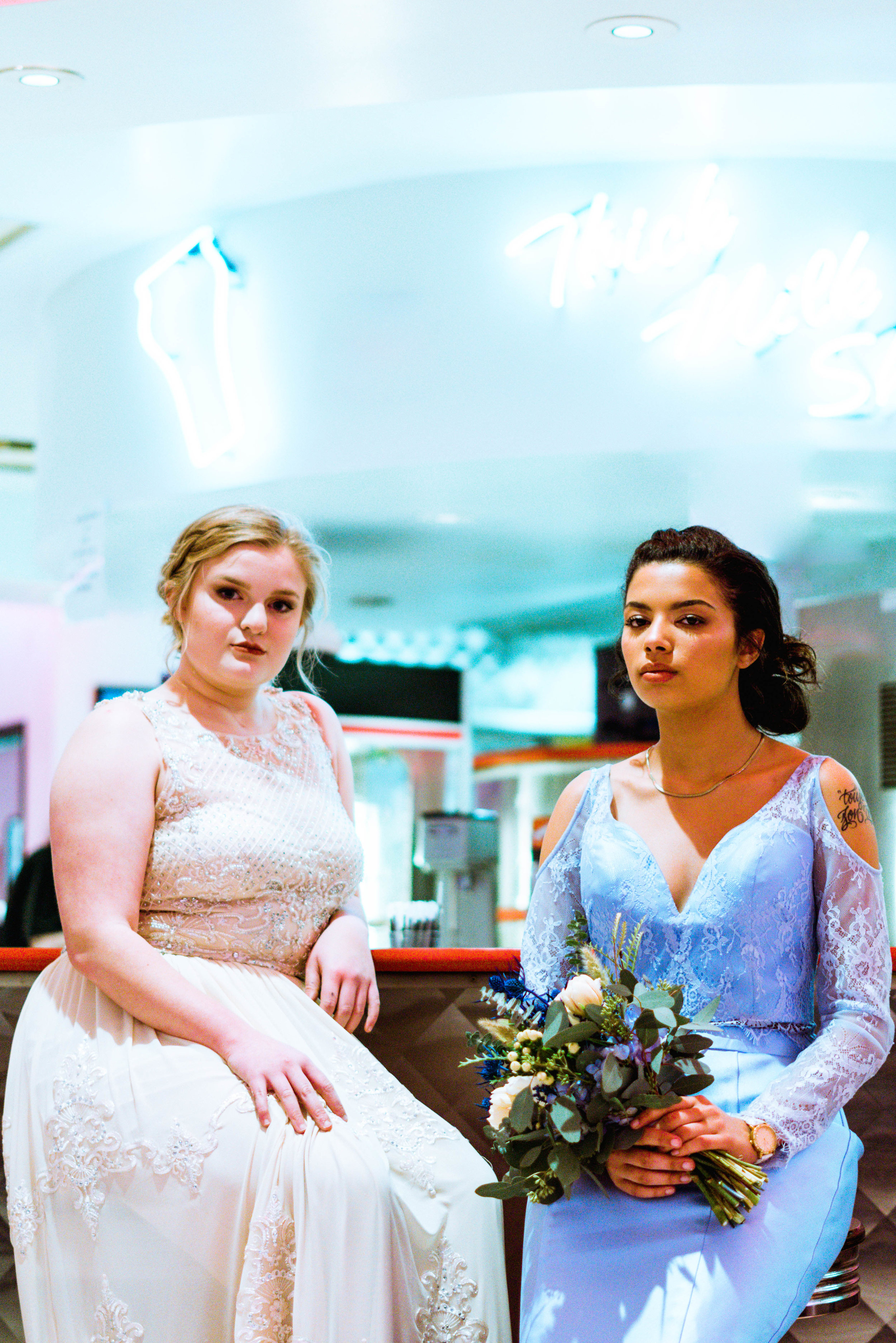 Prom 50's Diner Styled Photo Session