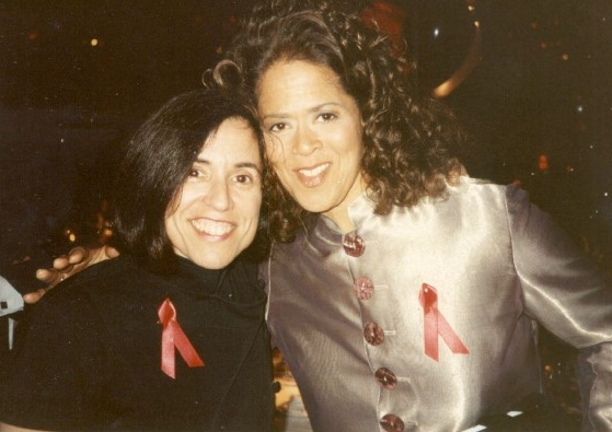 Harriet Leve and Anna Deavere Smith