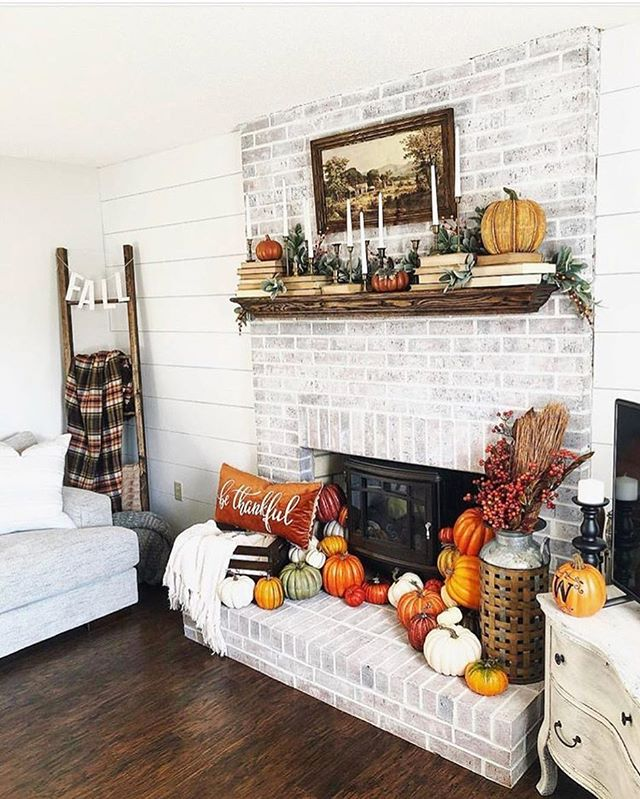 As if a brick panel fireplace wasn't fall goals enough the decor is just amazing 😍🍁🎃 . . . . . . . . . . #upgradeyourlife #apartmentliving #apartmentstyle #apartmentdecor #hygge #hyggelife #hyggehome #positivevibes #lifestyle #plantlove #plant_addiction  #livesimply #livelocally #scandinavian #nordicvibes #aesop #dreamhome #makeitreality #oregonlife #nw23rd #pdxpride #pdxliving #apartmentsforrent #apartmentforrent #decorcrushing #relaxing #fallgoals #falldecor