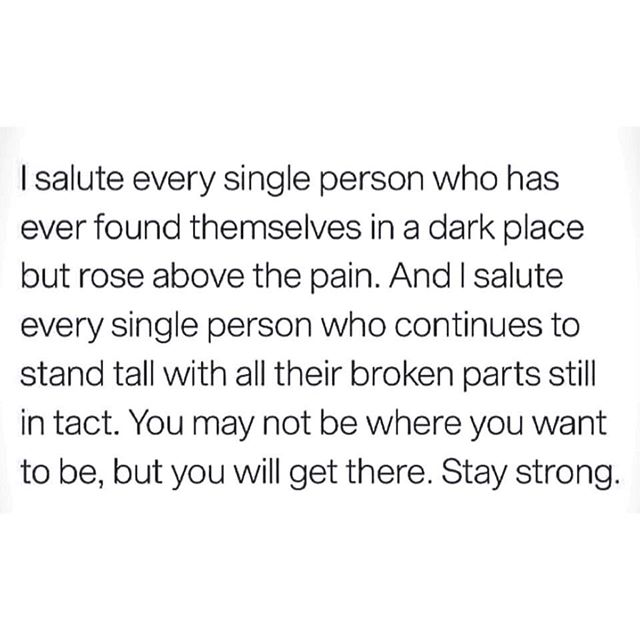 It's tough but I'm rooting for you 😶