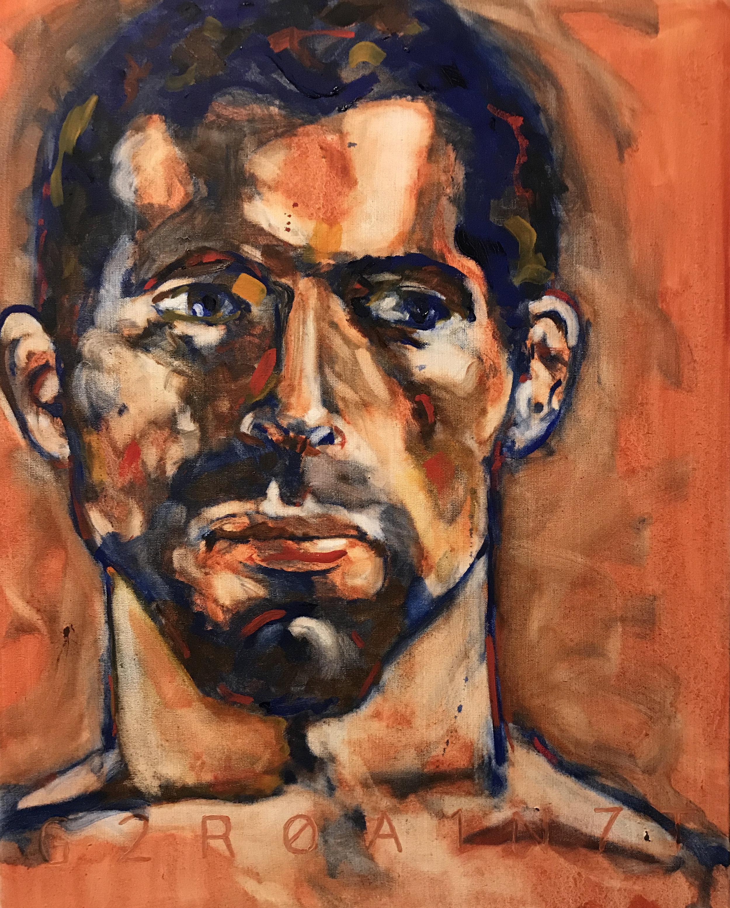 Christian Oil on Canvas 24x30  $1200
