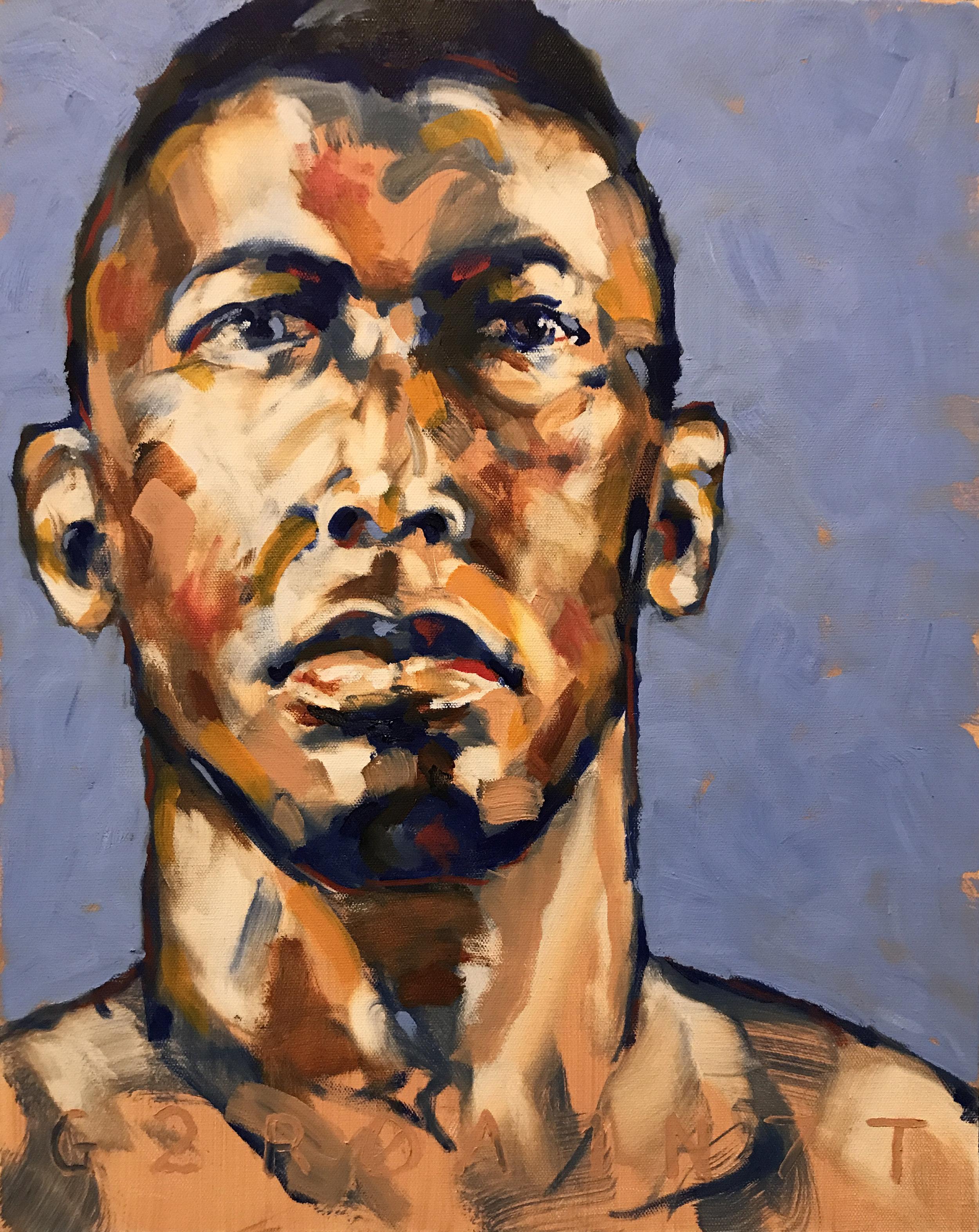 Dorian Oil on Canvas 16x20  $700