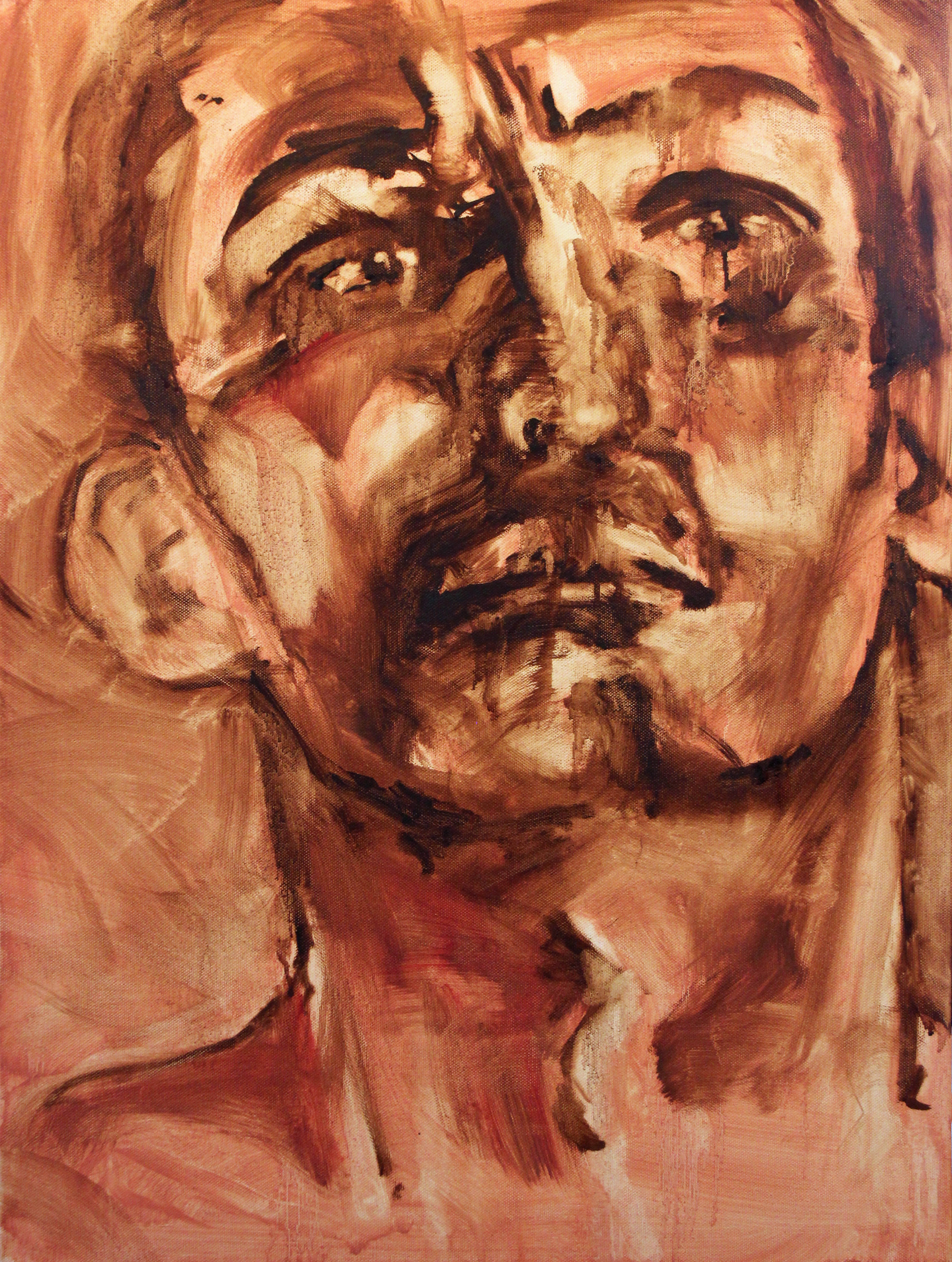 Tee Oil on Canvas 18x24  $600