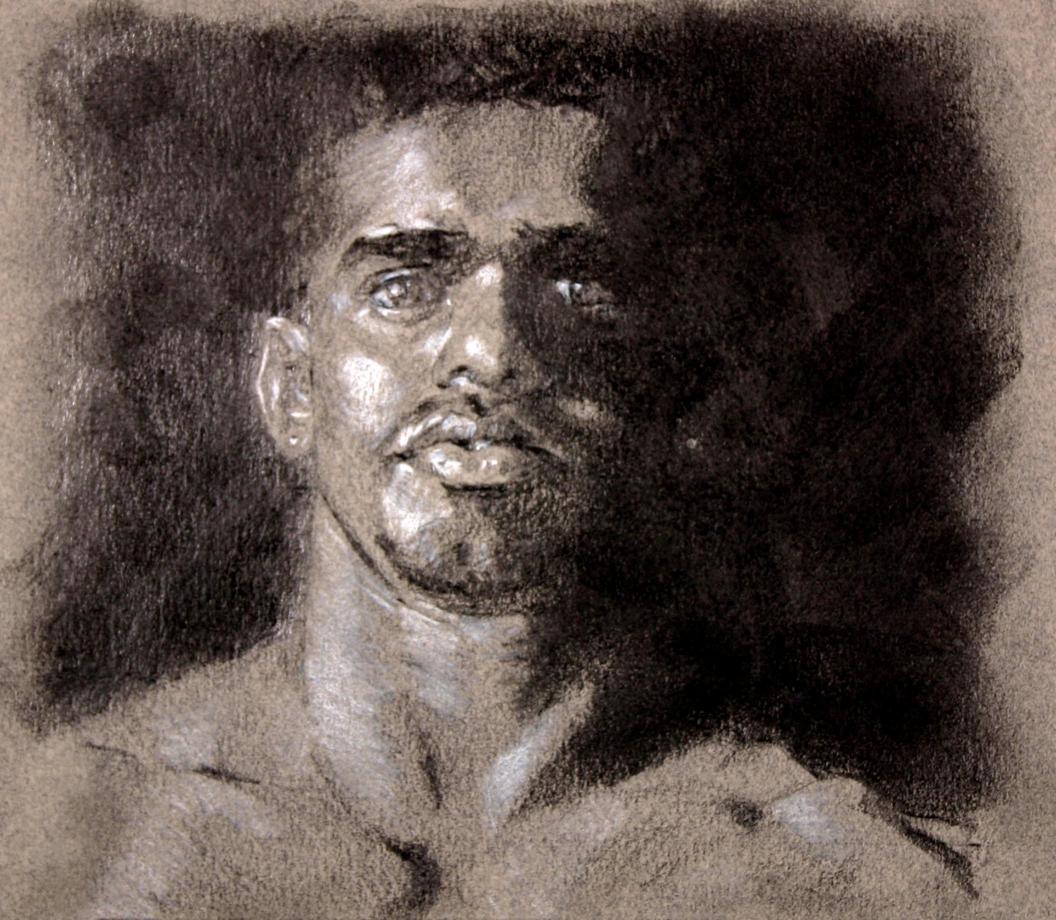 Tony Graphite on Paper 8x6  SOLD