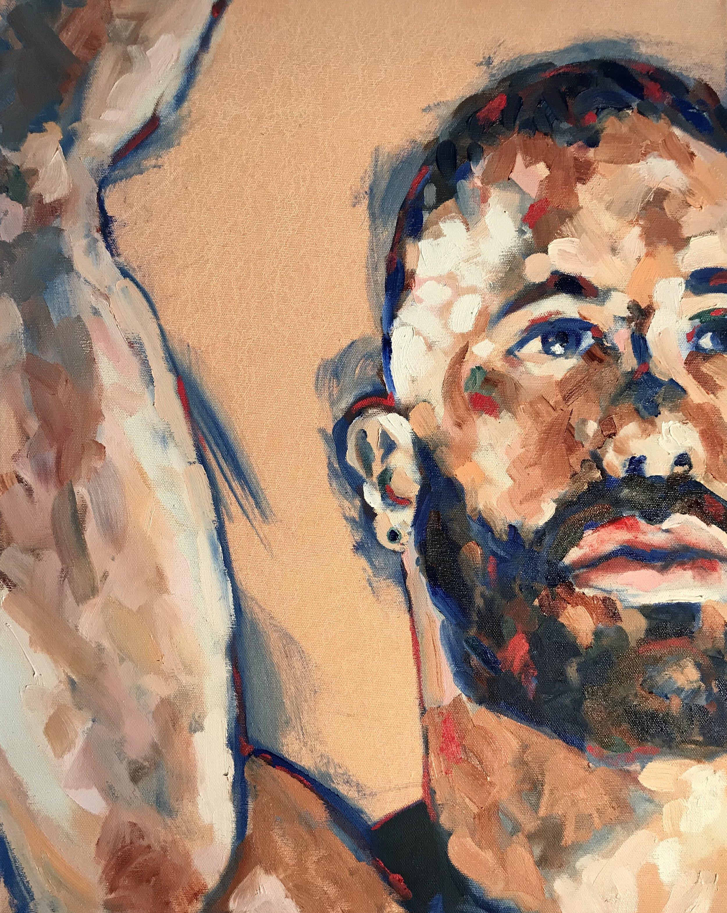 Simon 2 16x20 Oil On Canvas  $700