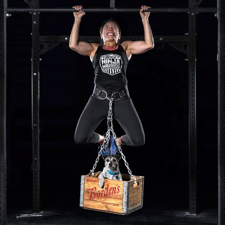 """MEET HELEN - Helen is a certified strength coach and personal trainer, a TRX Level 1 Qualified trainer, and a swim and rock climbing instructor. She competed on American Ninja Warrior in 2018, swims marathons, and is one of few women to have swam an """"ice mile.""""Beyond her qualifications as a trainer and athlete, Helen's positive attitude and ability to cheer on her clients sets her apart from the rest. Learn more about Helen »"""