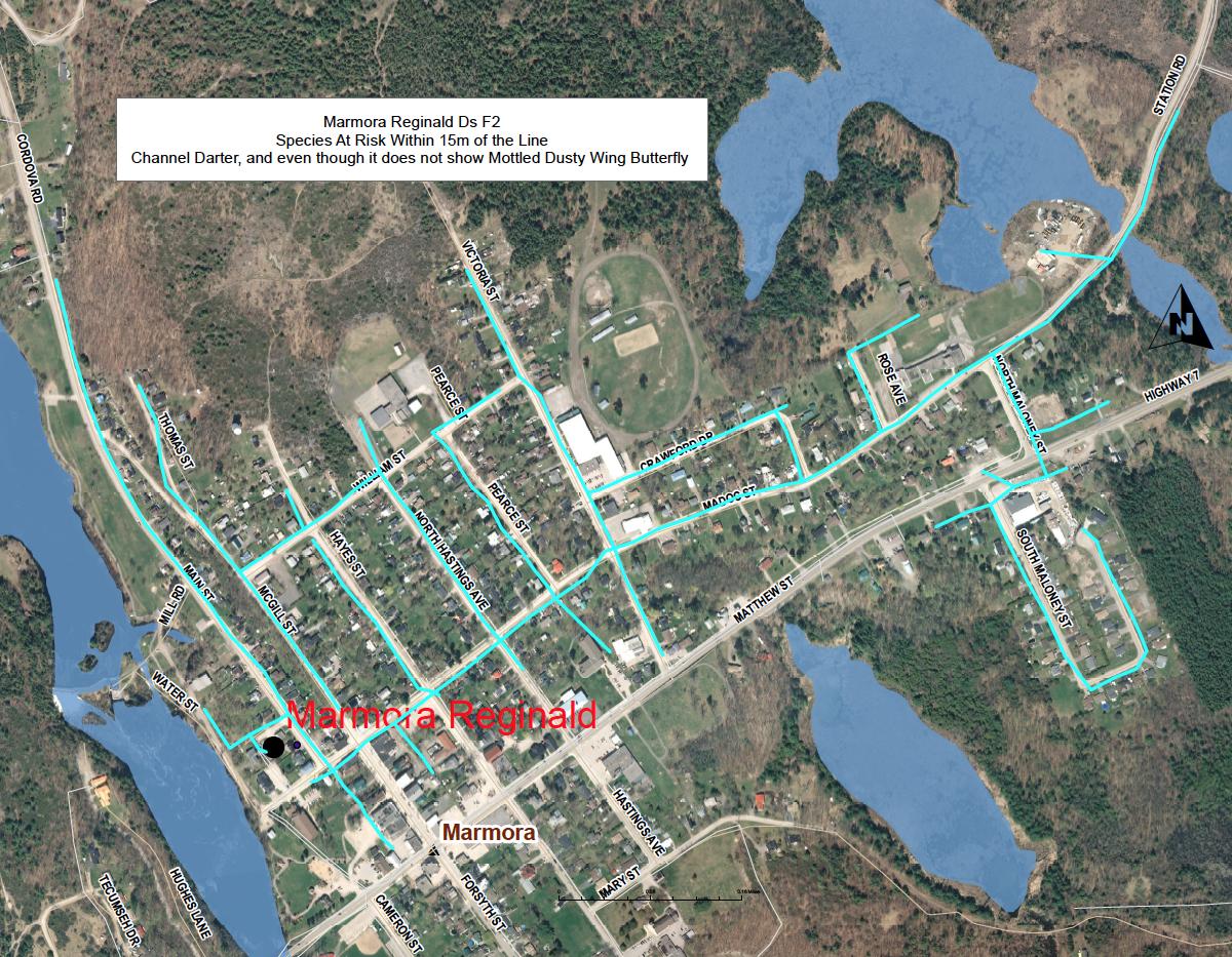 Hydro One Maintenance Map
