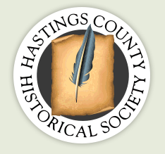 Thanks to the Hastings County Historical Society for the commemorative plaque.