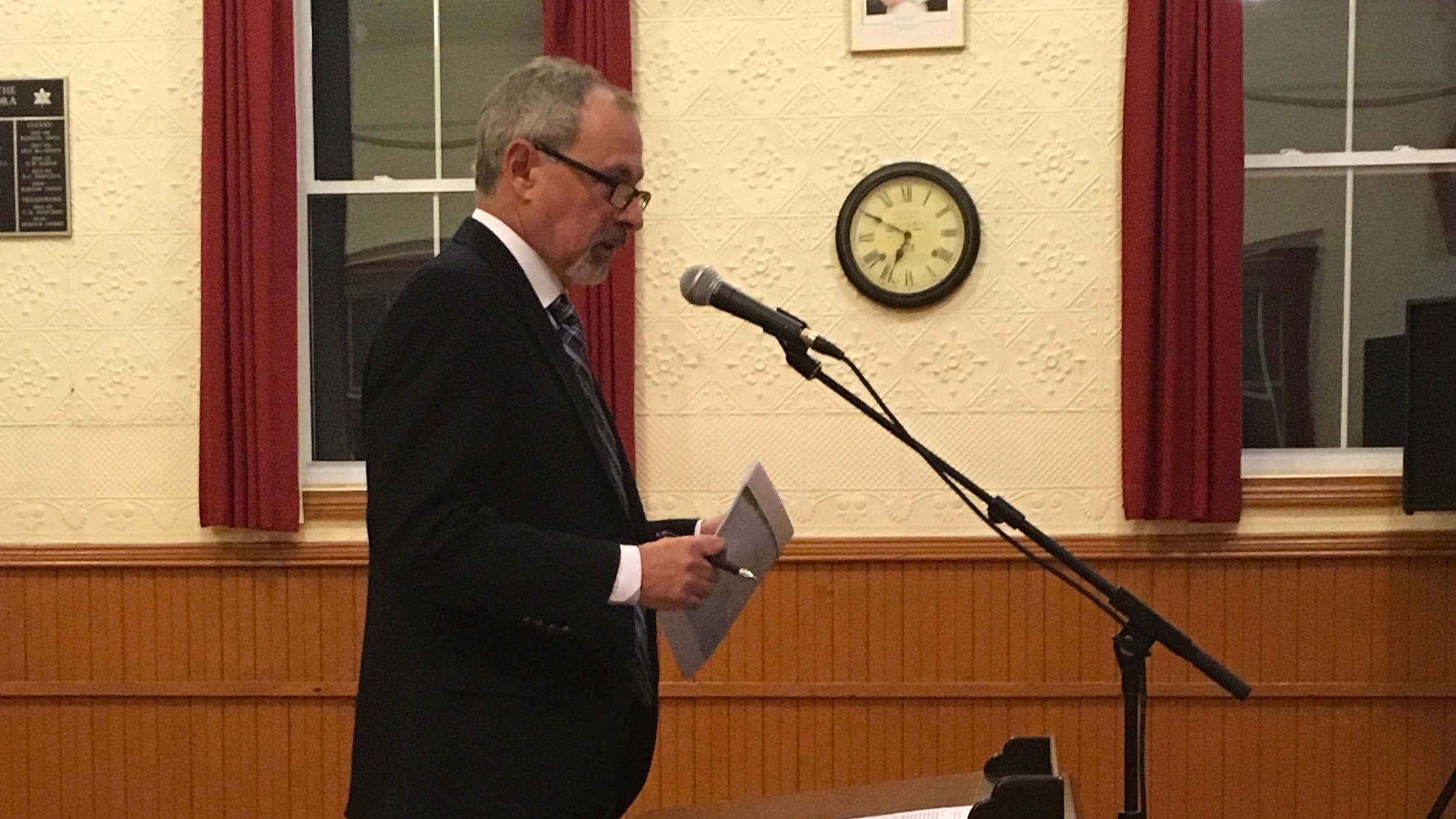 Jim Pine, CAO of Hastings County
