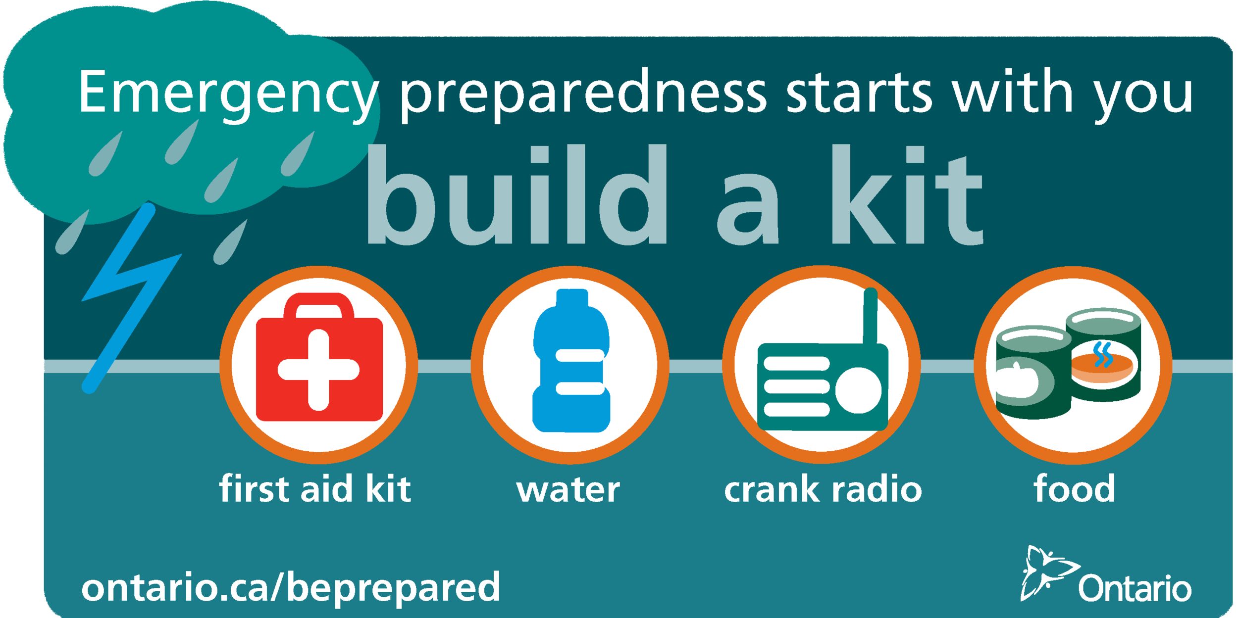 In the event of an emergency, are you ready? - May 5-11, 2019 is Emergency Preparedness Week.