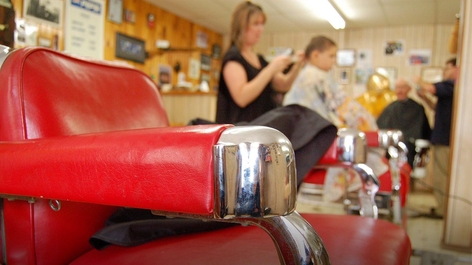 For more than 50 years,  Cook's Barber Shop  has provided old-fashioned service that keeps customers returning.