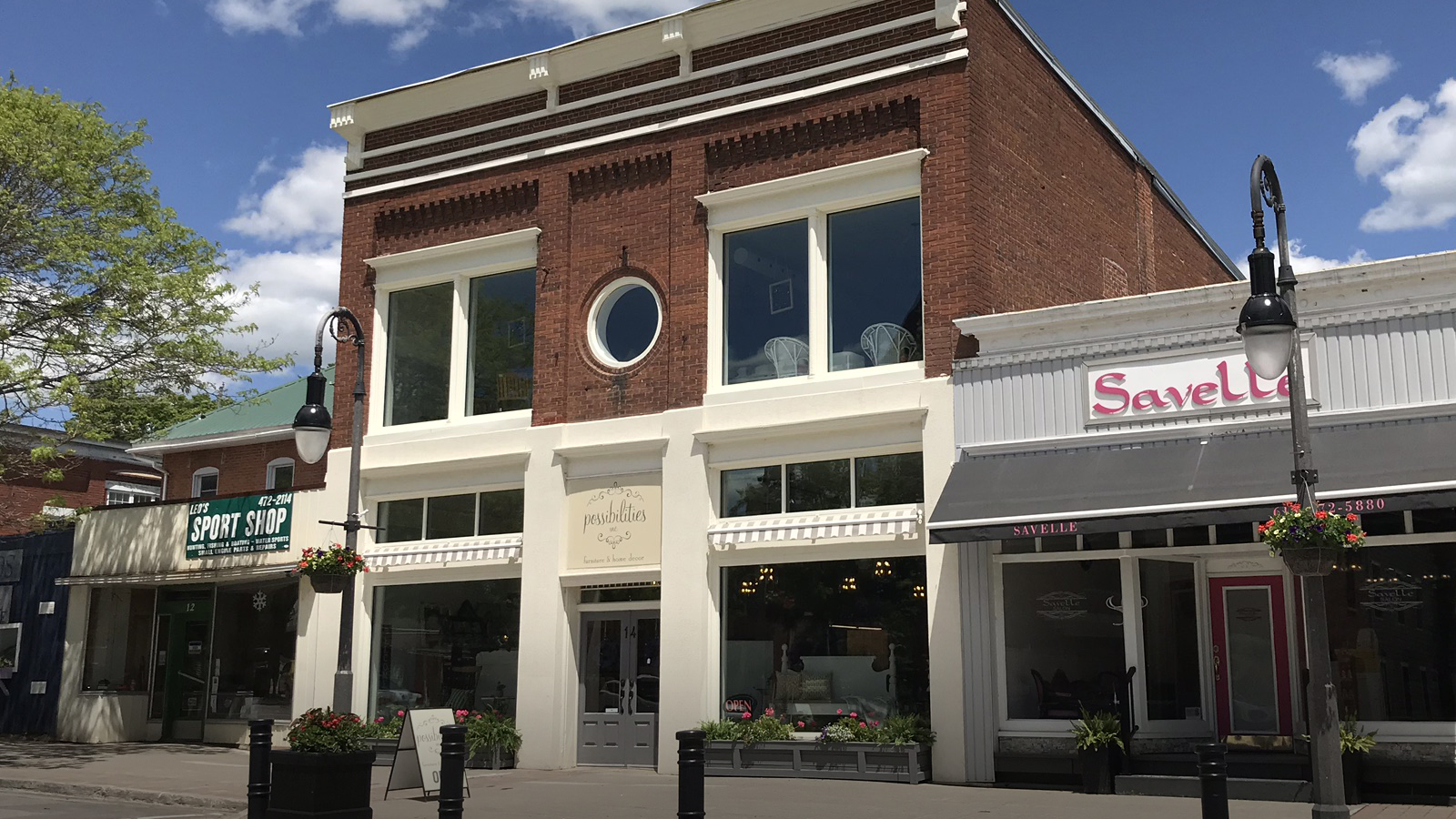 Home decor store  Possibilities  has operated for five years in our community and recently expanded into a historical building.