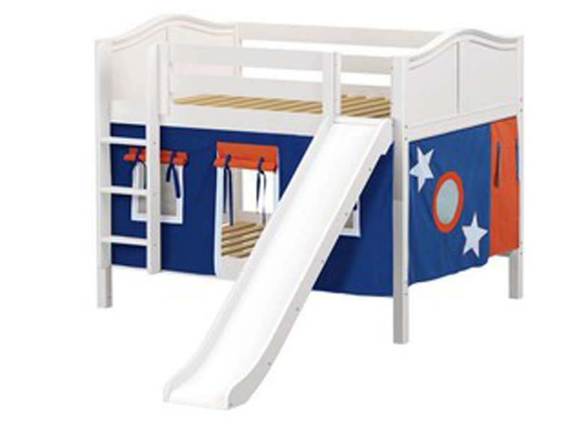 Low Bunk Bed with Straight Ladder and Slide .jpg