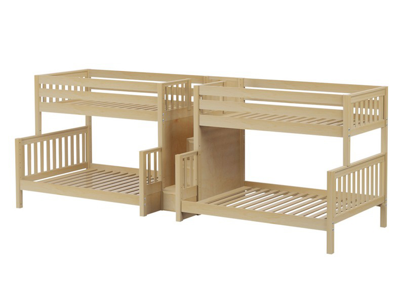 Quad Twin:Full Medium Bunk Bed w: Stairs .jpg