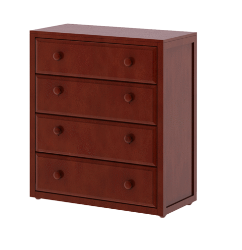 4 Drawer Dresser in Chestnut