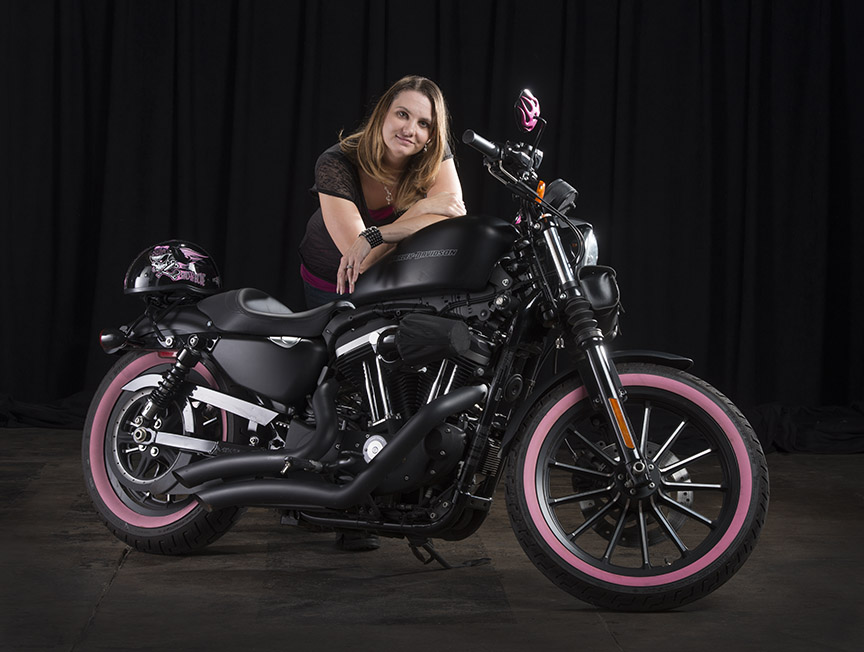Motorcycle photography