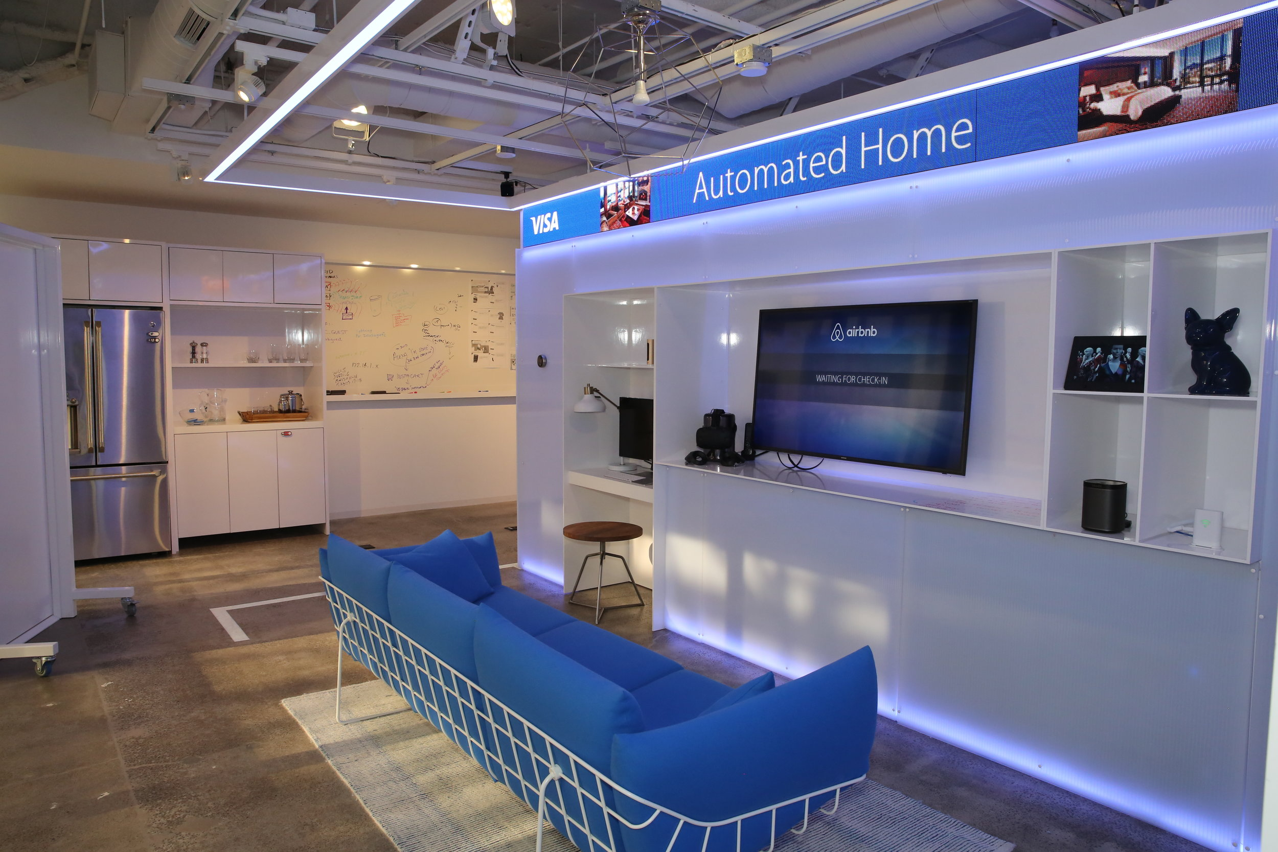 Our work at Visa's San Francisco Innovation Center showcases the future of intrinsic payments. As appliances and devices independently manage an even greater number of everyday transactions, brands will need to reconsider their role in the ecosystem of the automated home.