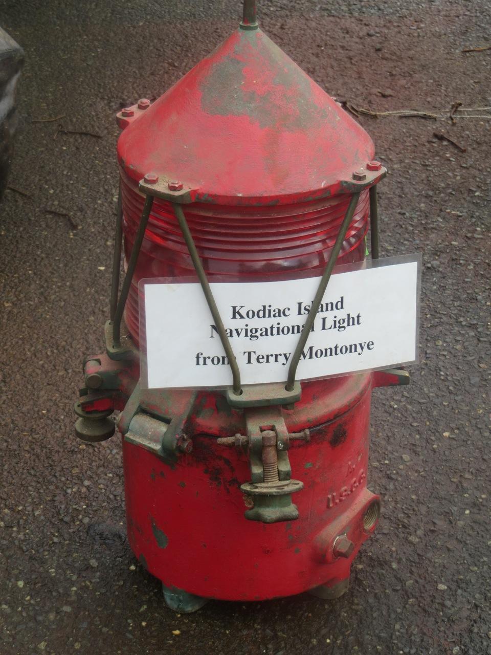 Kodiac Island Navigational Light