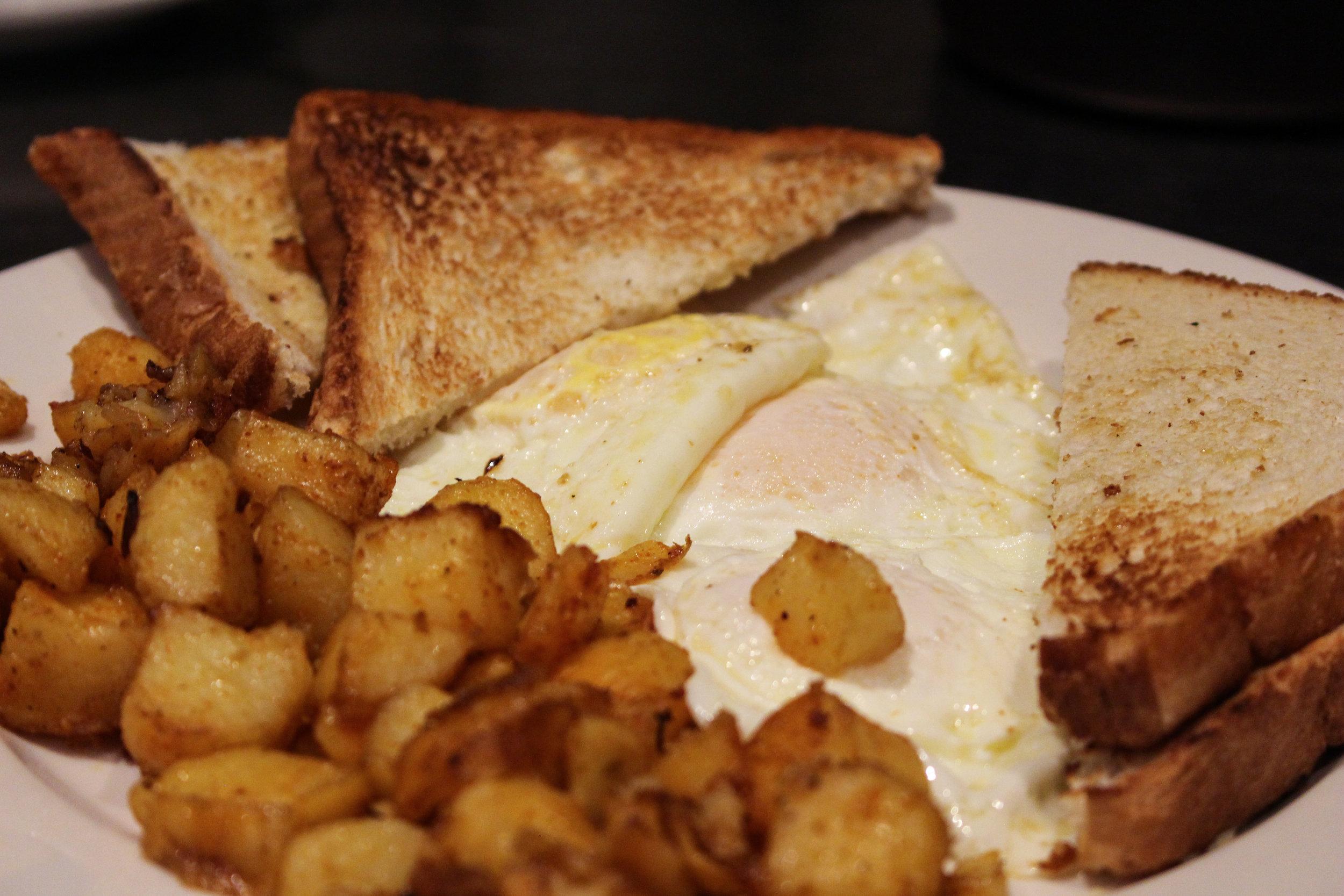 Two Egg Breakfast -