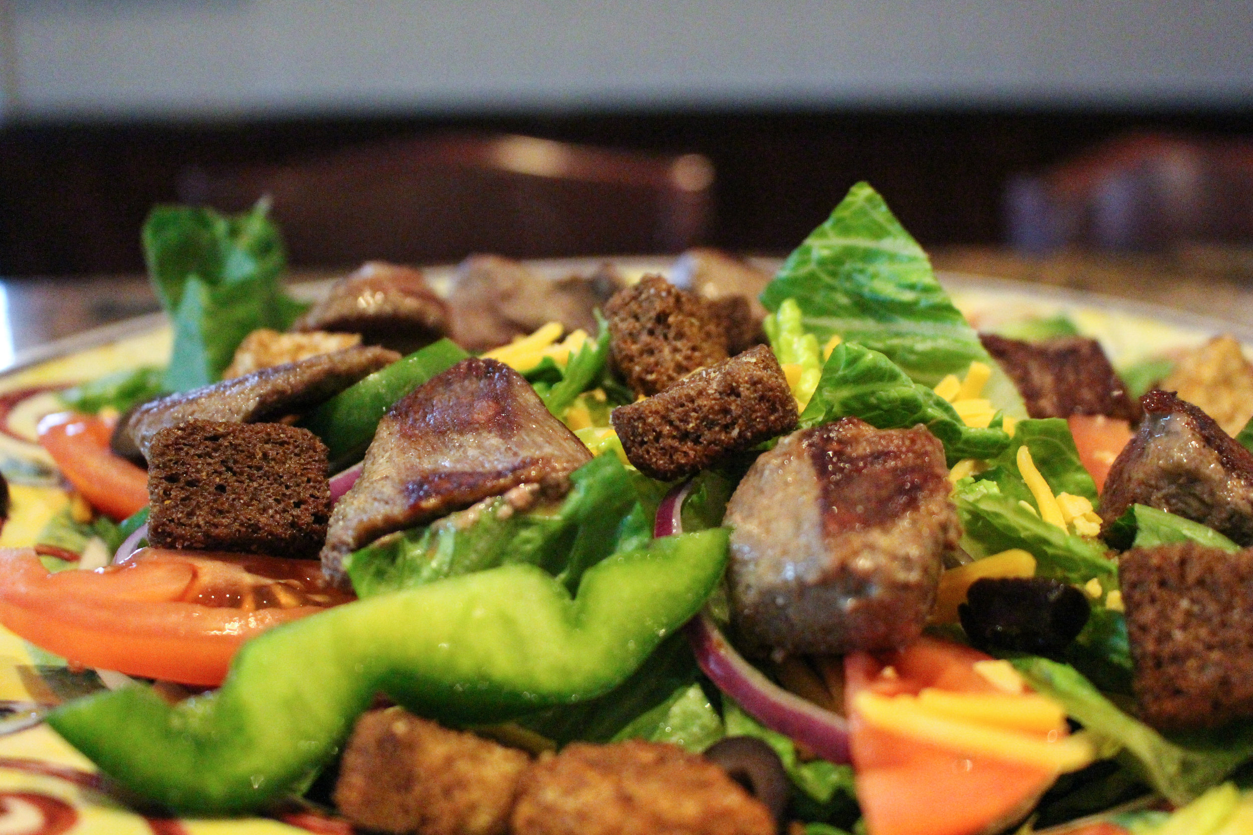 Steak Tip Salad -