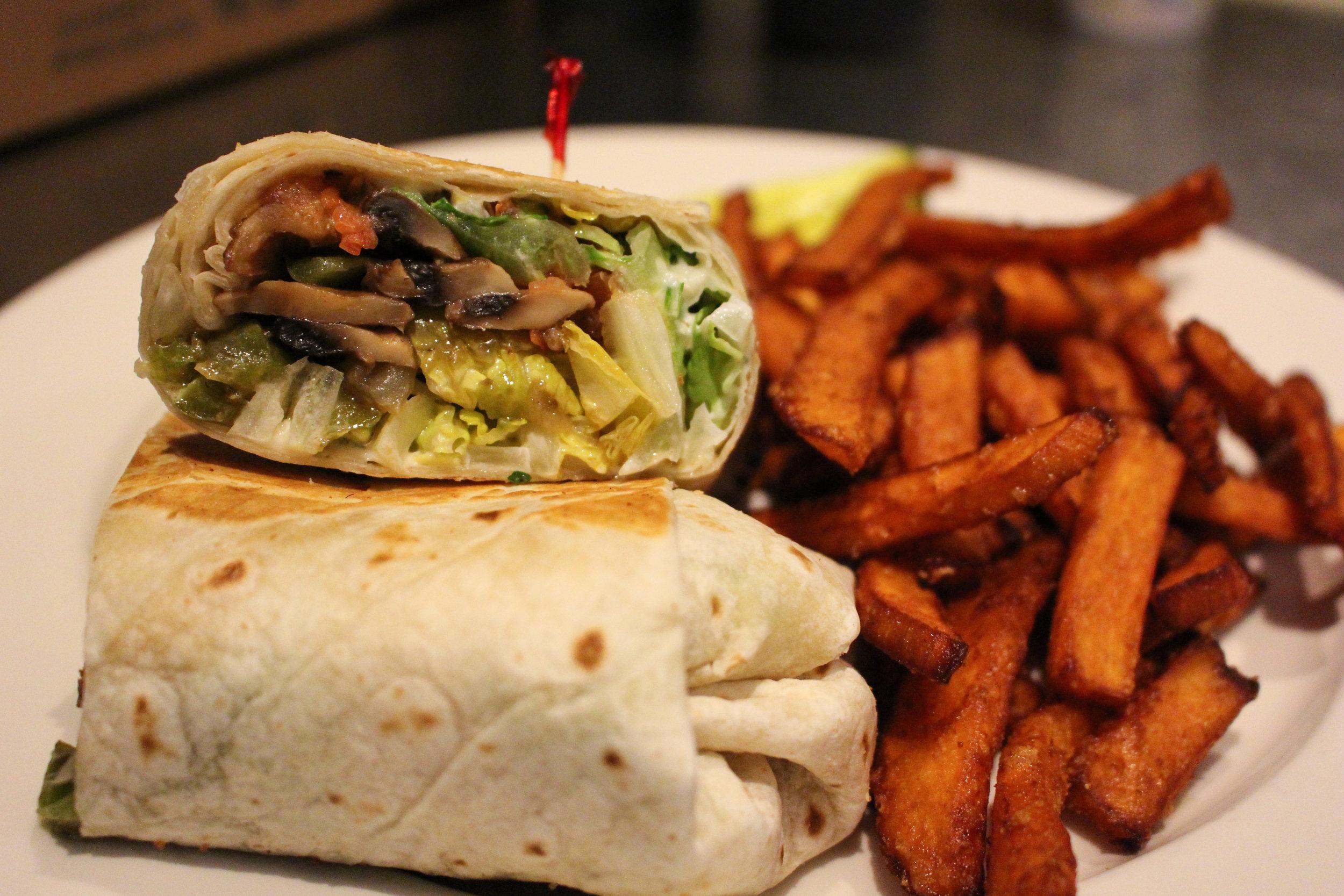 Vegetable Wrap -