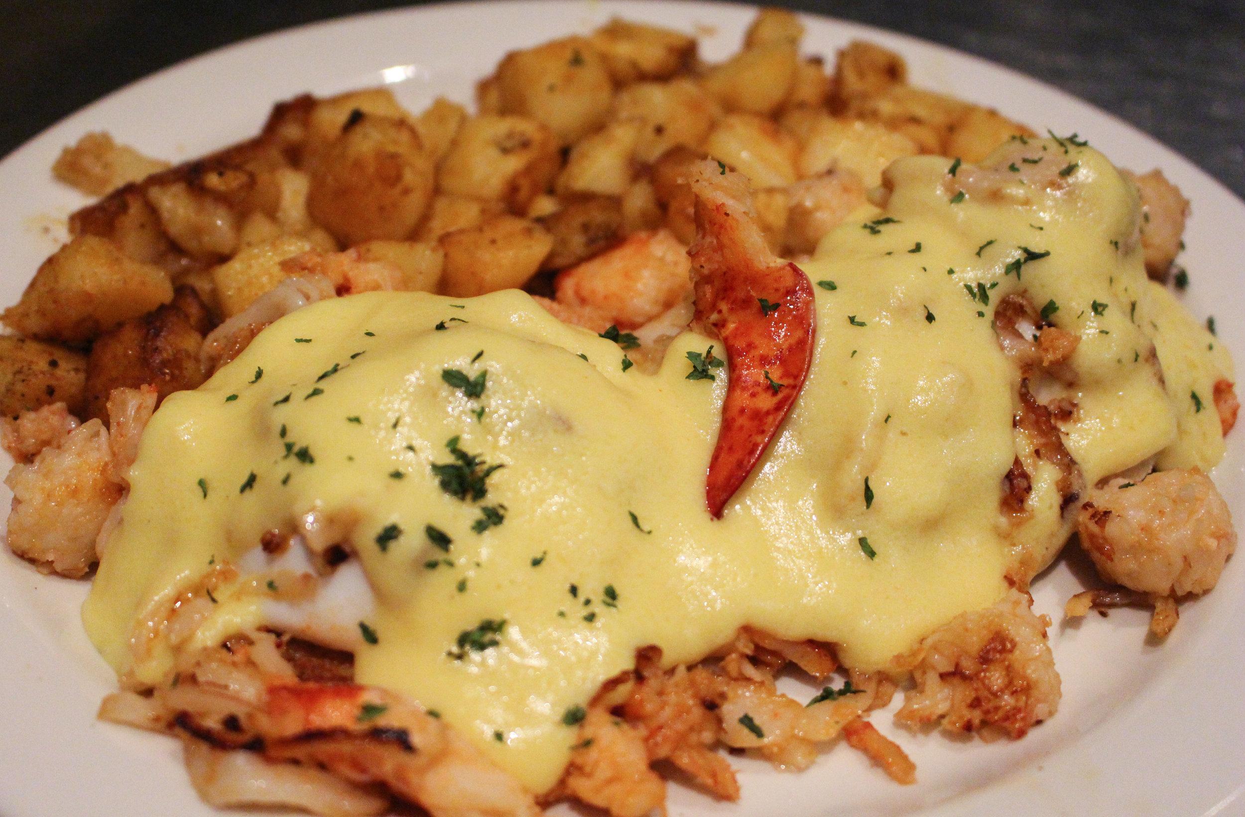 Lobster Benedict -