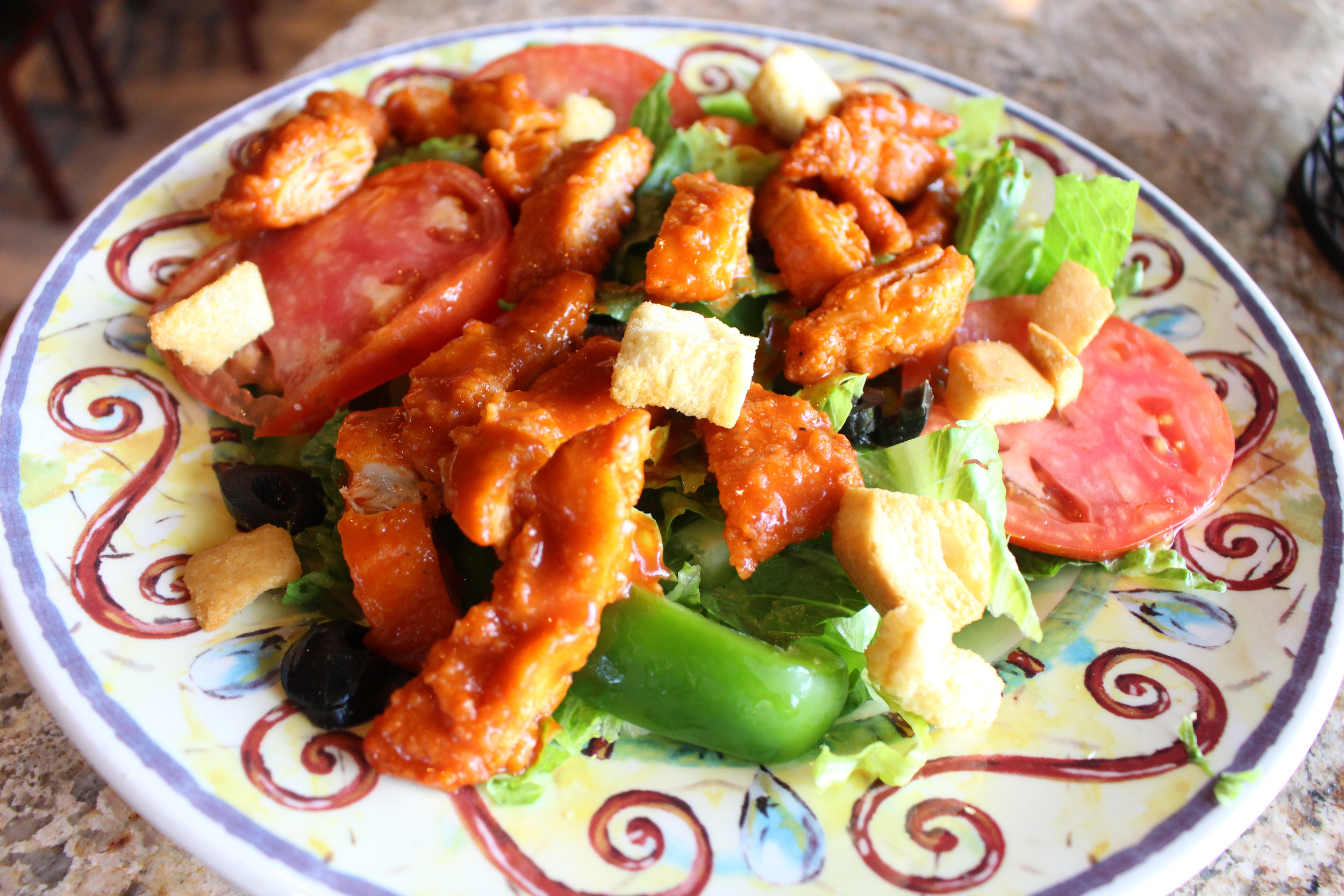 Buffalo Chicken Salad -