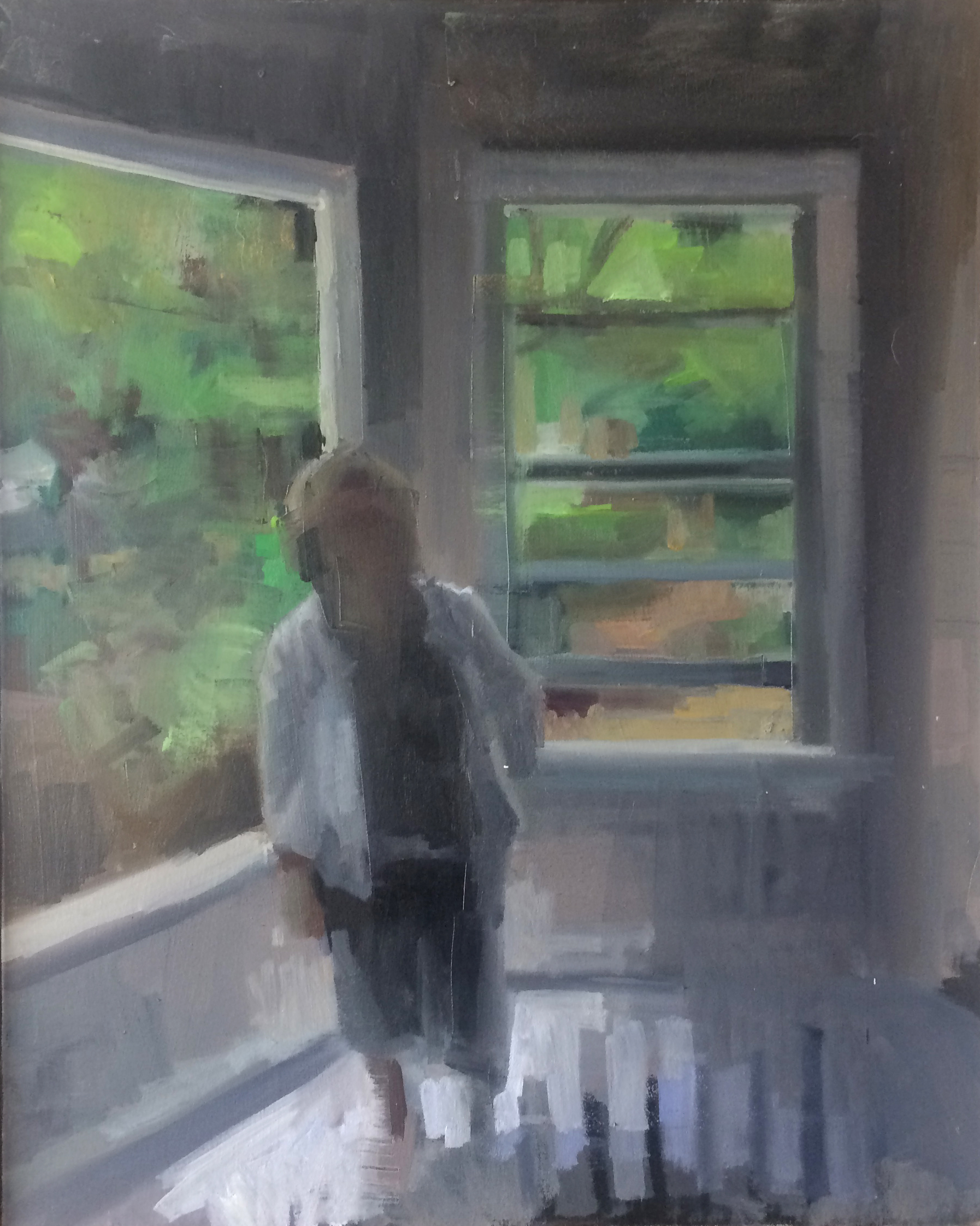 Midsummer Sun in an Empty Room, #3
