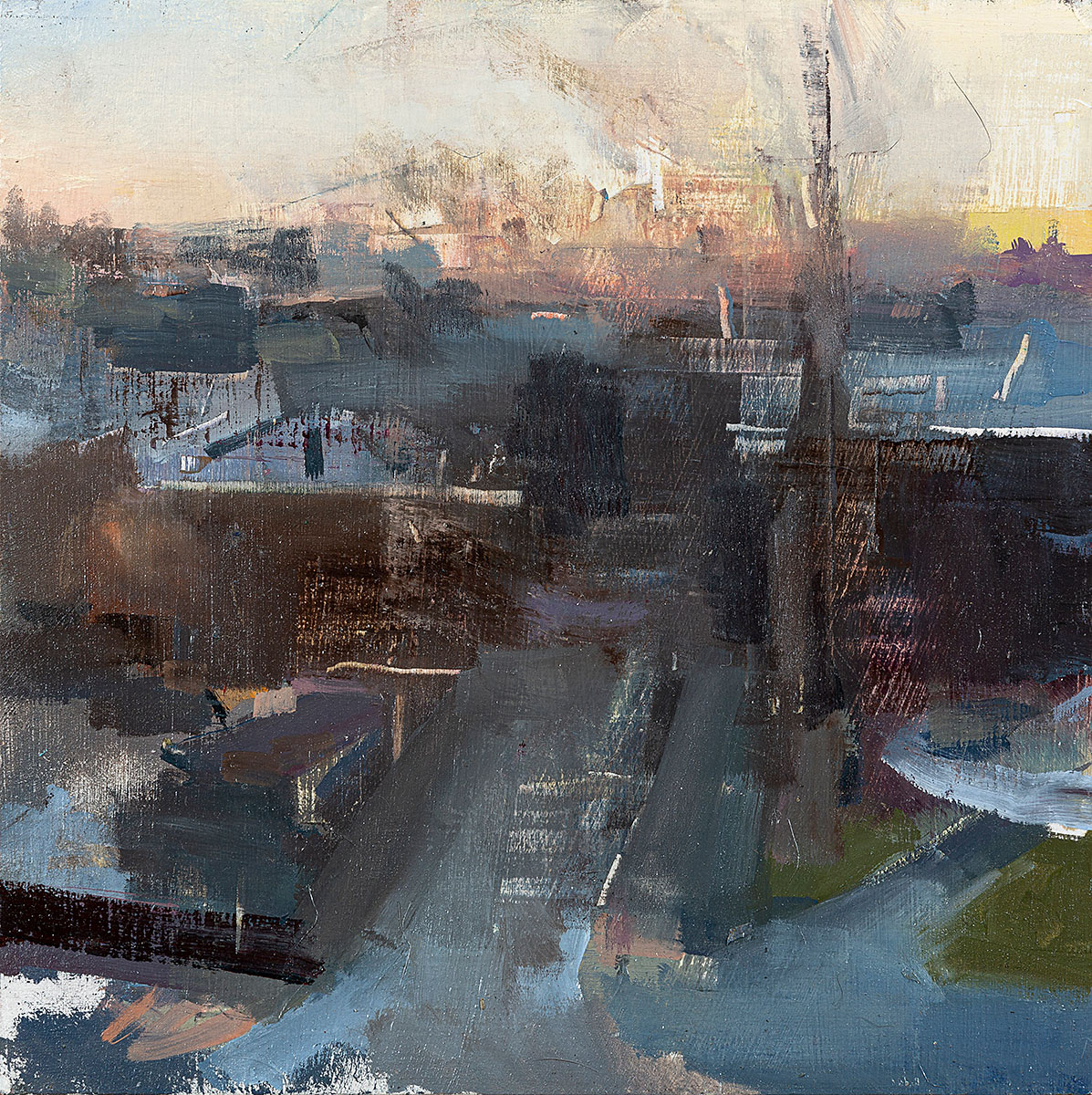 """""""Philly Morning, Spruce Street, January"""""""