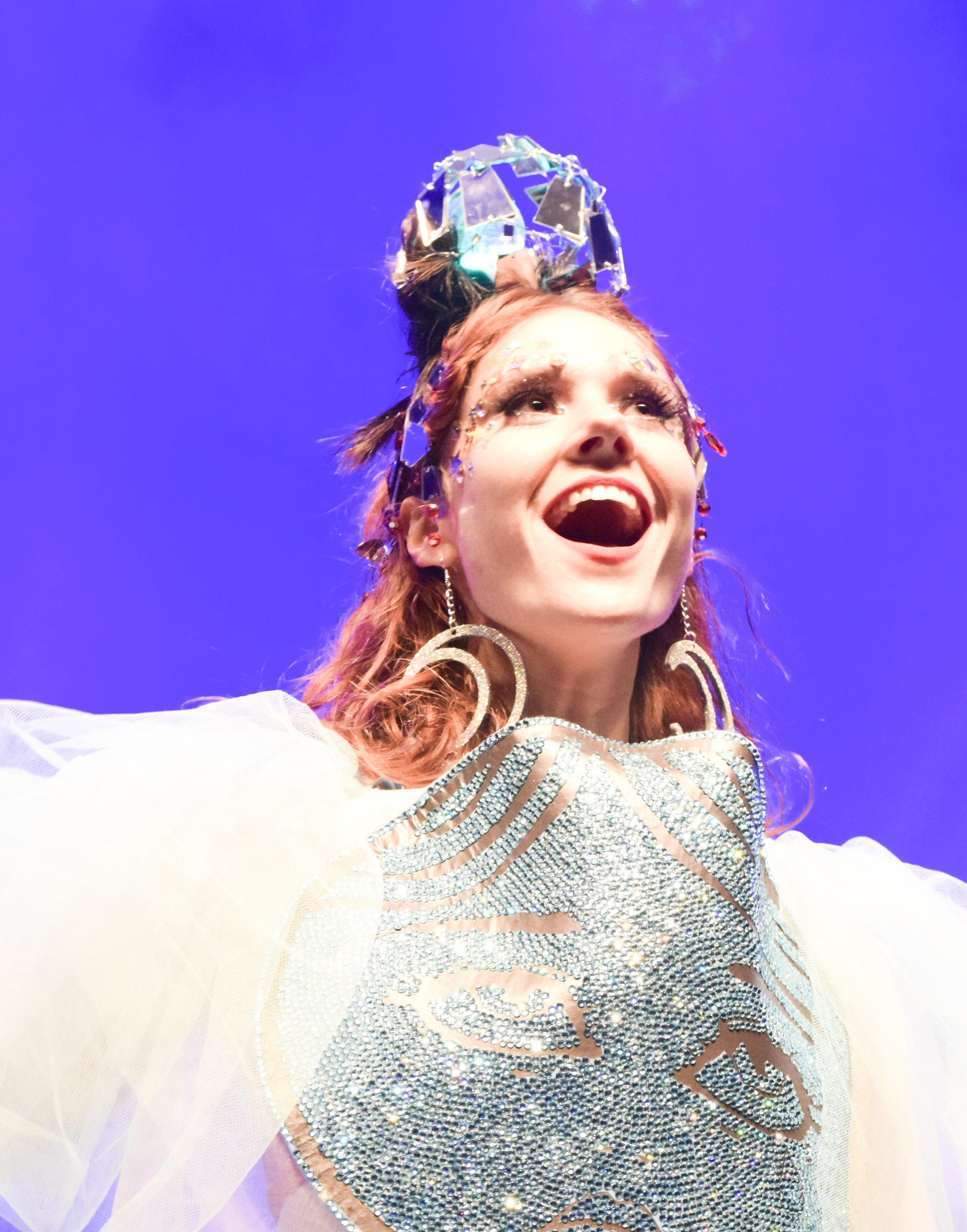 Kate Nash performing O2 Sheperds Bush Empire