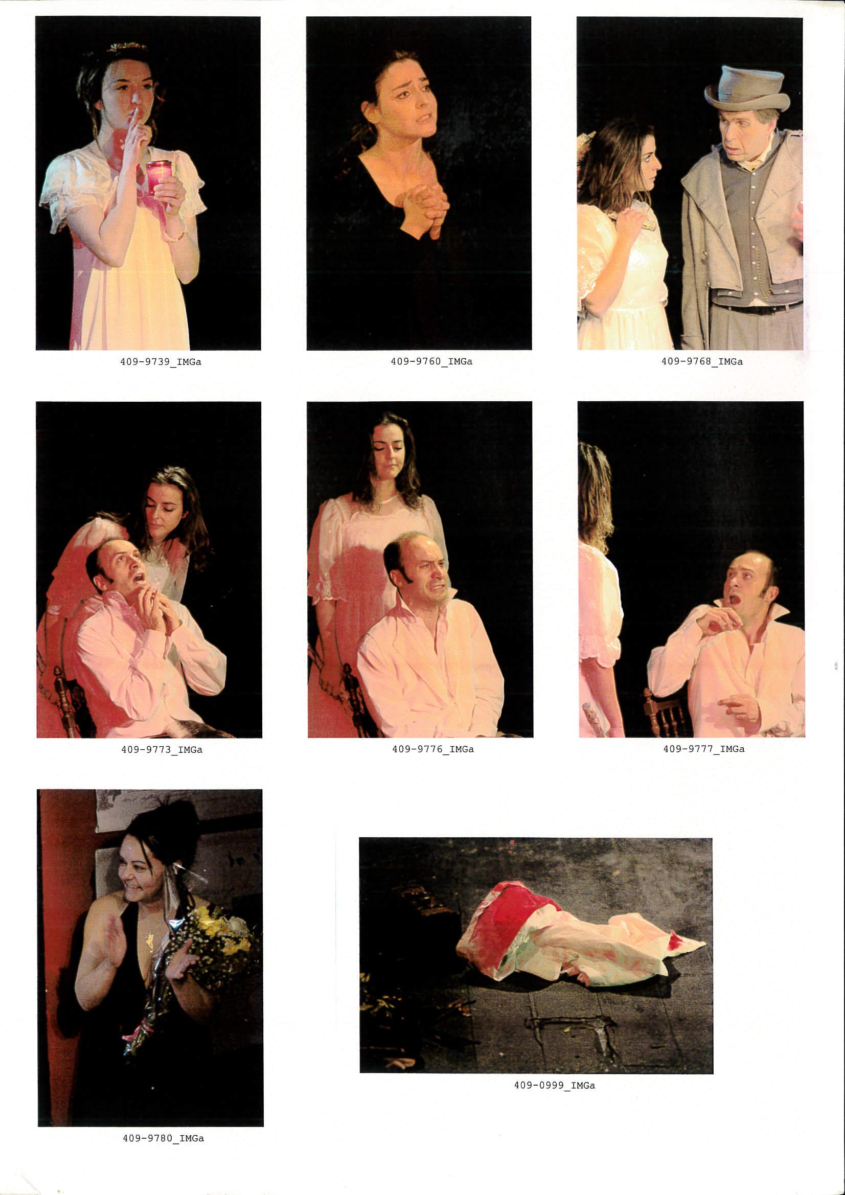 OWAP Production of adaptation of COLOMBA by Prosper Mérimée directed by Kim Michelle BRODERICK Théâtre Darius Millaud Paris France .jpg