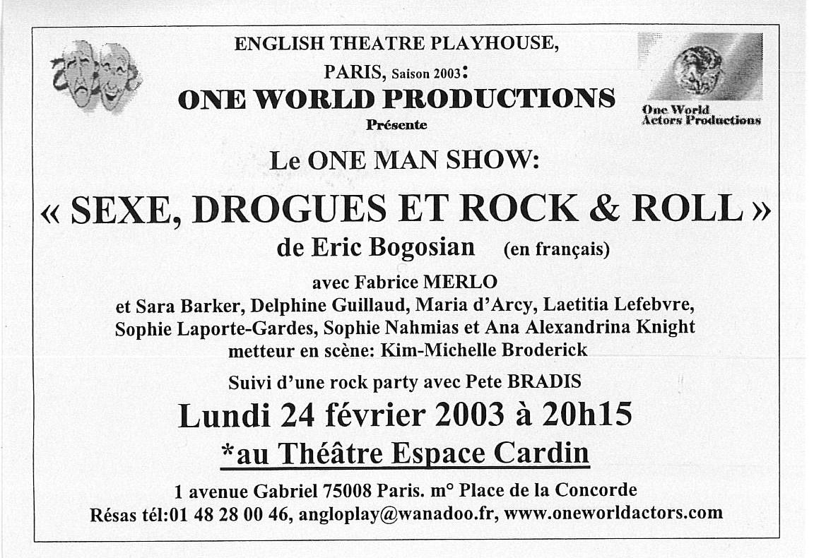 OWAP Leaflet Sexe Drogues et Rock n Roll en français at Espace Cardin before Avignon Theatre Festival  Director Kim Michelle BRODERICK.jpg
