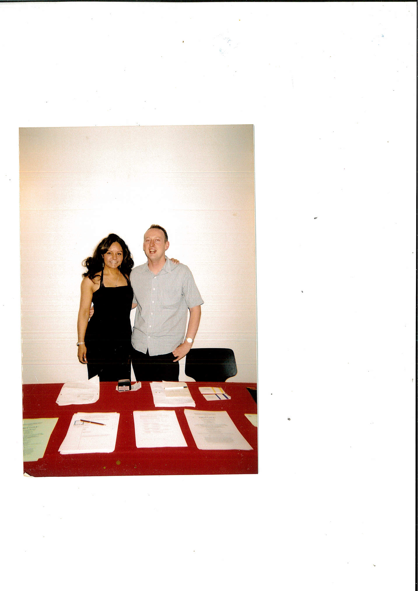 OWAP  FOYER ESPACE CARDIN  KIM WITH BEN WALMSLEY during our year long showcase stagings 1st year of 3 .jpg
