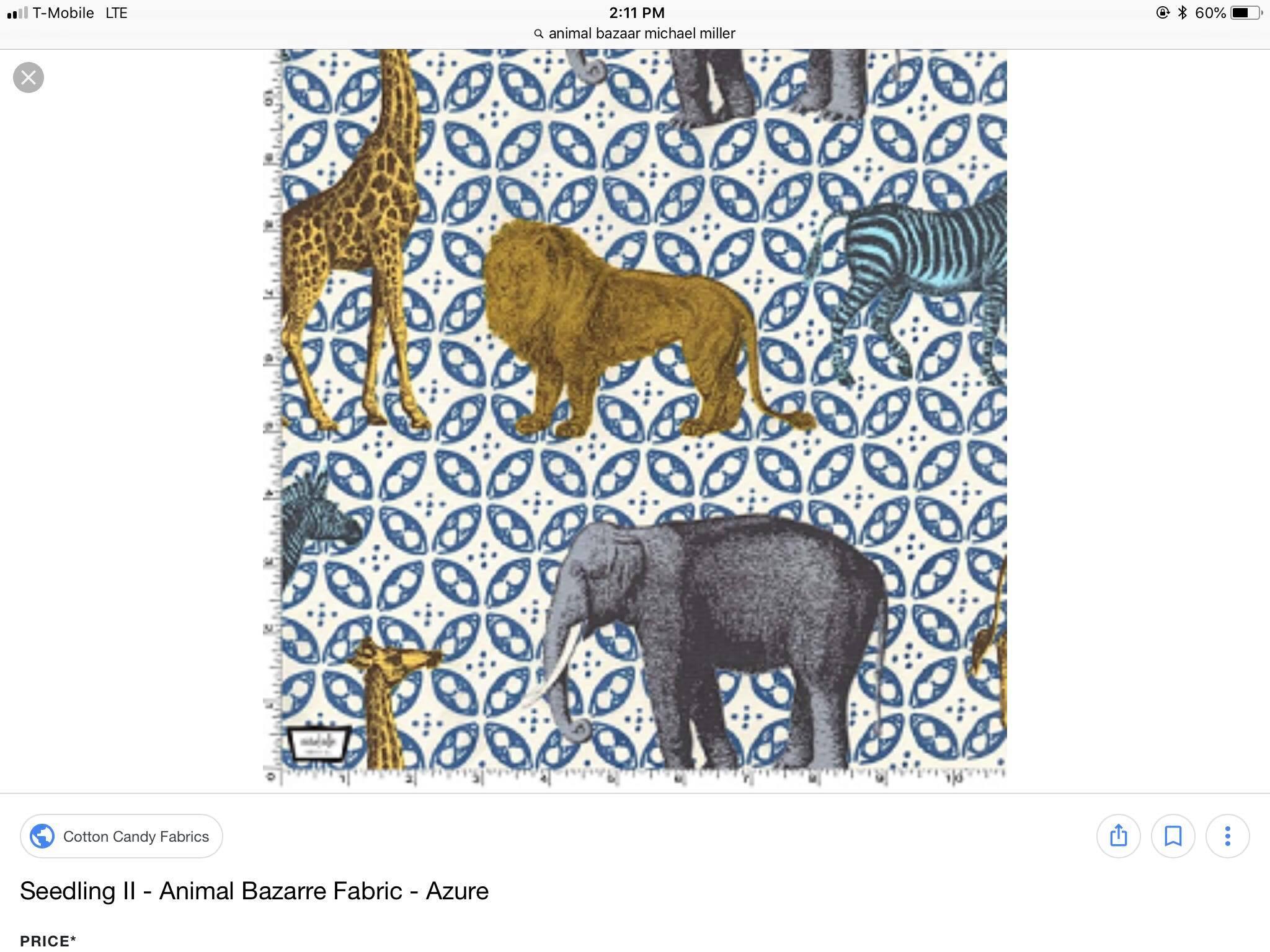 SEEDLING II Animal Bazarre Azure