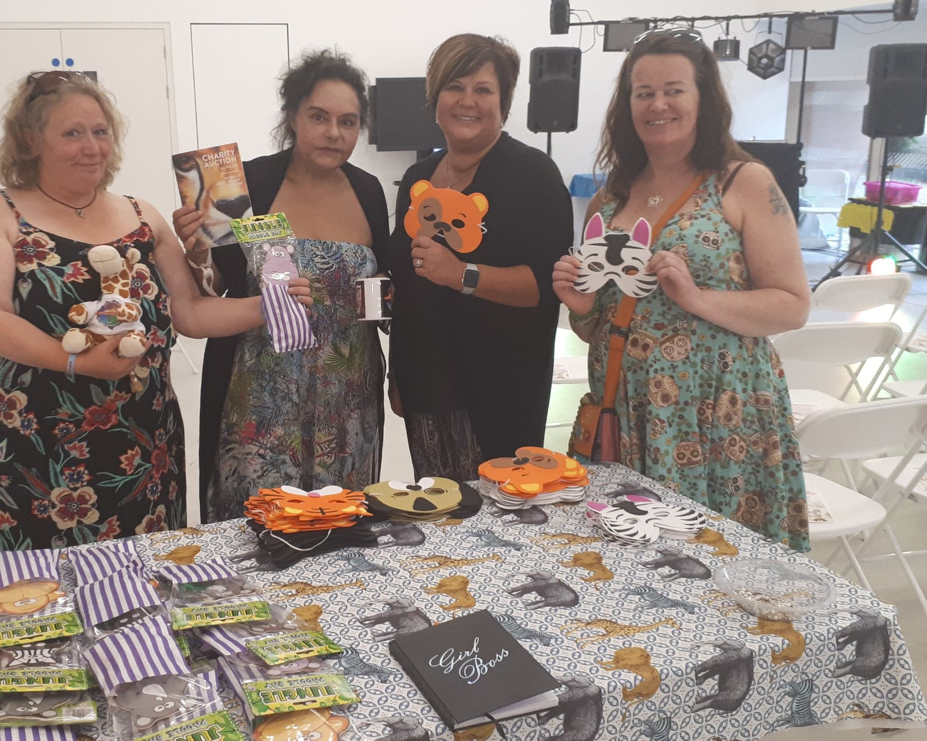 owap ar event fundraiser colchester uk 20 july 2018 with sue abi ellie and kim.jpg