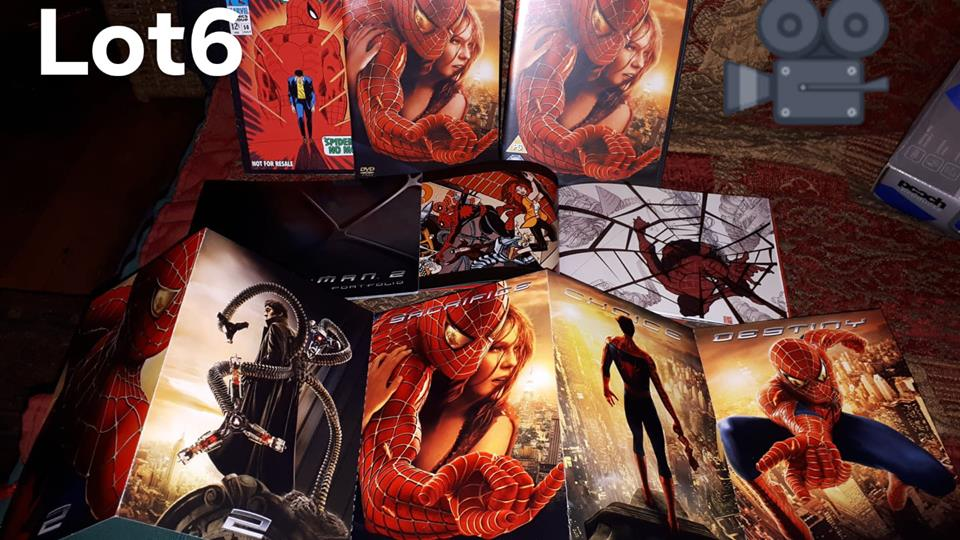 Auction LOT 6 OWAPAR Xmas auction 2018 Spider Man 2 Limited edition Gift Set.jpg